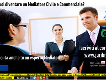 Corso di alta formazione per  Mediator Professional (Civile e Commerciale)