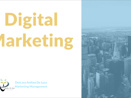Corso di Alta Formazione in Digital Marketing