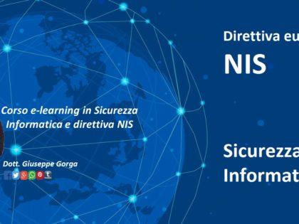 Corsi di formazione sulla Direttiva NIS e misure AGID
