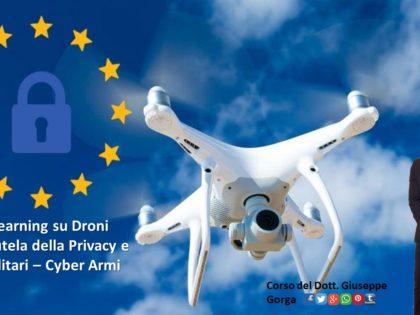 Corso di formazione su Droni e Privacy
